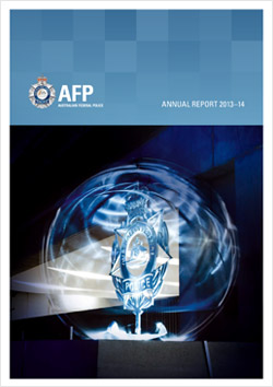 Australian Federal Police Annual Report Cover