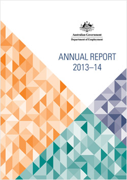 Department of Employment Annual Report Cover